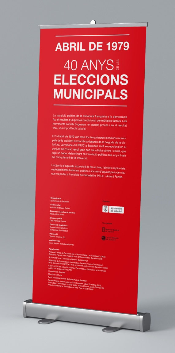 Abril de 1979, 40 anys de les Eleccions Municipals